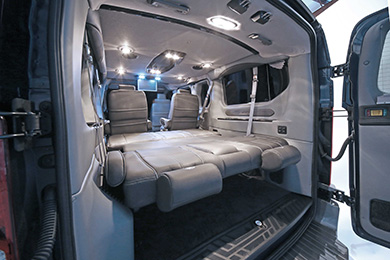 Discount Explorer Ford Transit Van Luxury Conversion Vans ...